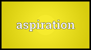 aspiration meaning