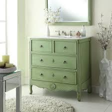 Distressed Bathroom Cabinet Cottage Vanity Ebay