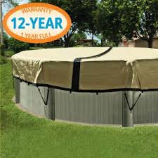 ULTIMATE WINTER ABOVE GROUND POOL COVER 28 FT ROUND