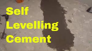 basement diy levelling a concrete floor