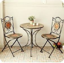 Image Beautiful Backyard Stars Cheap Mosaic Parquet Mediterraneanstyle Black Wrought Iron Tables And Chairs For Outdoor Furniture Aliexpress Stars Cheap Mosaic Parquet Mediterranean Style Black Wrought Iron