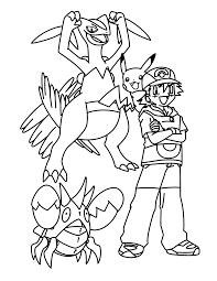 Pokemon Paradijs Kleurplaat Sceptile