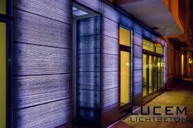Light Transmitting Concrete Lucem Lichtbeton Lucem Lichtbeton