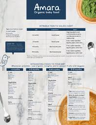 Introduction To Solids Checklist For Your Fridge
