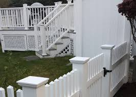 vinyl picket fence front yard. White Color Vinyl Fences Picket Fence Front Yard O