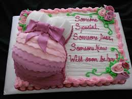 Pink Baby Bump Cake CakeCentral