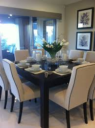 cute dining room set up home decor ideas throughout for 8 prepare 19
