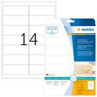 Tranparent Labels Transparent Labels Herma Transparent Label For Professional Look