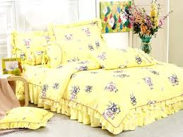 single bed sheet set baby printed quilt