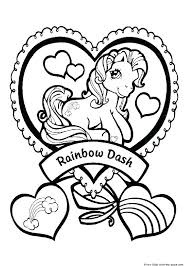 My Little Pony Color Pages Online My Little Pony Coloring Book Pages
