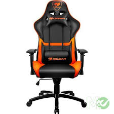 office orange. MX65421 Armor Gaming Chair, Black / Orange Office Orange