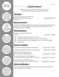 Nursing Student Resume Template Hdresume Templates Cover Letter ...