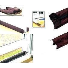 furniture stoppers home depot door draft guard home depot door air blocker twin homemade door air
