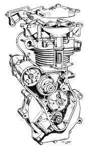 The velobanjogent pen and ink drawings from motorcycle and motorcycling i'm back on these they fascinate me