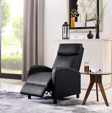 details about theater recliner men leather black oversized best big and tall chair large