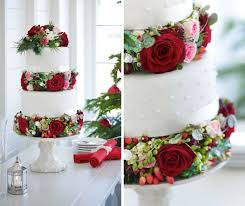 Wedding Cake Ideas With Real Flowers Interflora