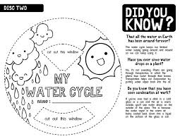 Small Picture Water Cycle Worksheet BW 2 Worksheets Classroom projects and