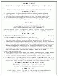 Resume Model For Accountant Best Cv Format For Accountant