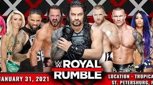 Royal Rumble WWE 2021 Live: Matches, date and time in ET, TV channels, when  & where to watch - Opera News