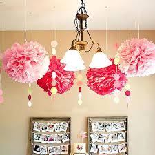 paper chandelier party decorations wedding decoration pom