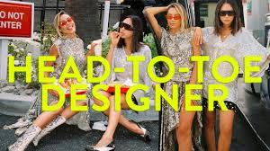 Designer Head To Toe Dressing Desi Perkins In Head To Toe Designer Collabs Aimee Song