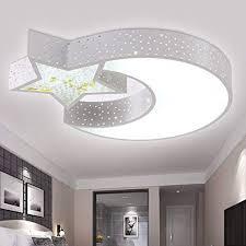 lighting for girls room. LED Ceiling Lamp Moon Stars Children\u0027s Lighting Room Ideas Boys  And Girls Bedroom Lamp, For N