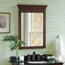wood framed bathroom mirrors. 24\ Wood Framed Bathroom Mirrors