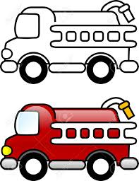 Small Picture Fire Truck Printable Coloring Page For Children Or You Can