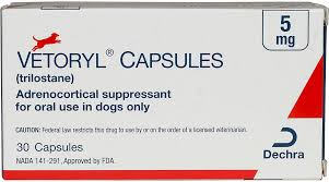 Vetoryl Dosing Chart Vetoryl Capsules For Dogs 5 Mg 30 Ct Products Dogs Pet Care