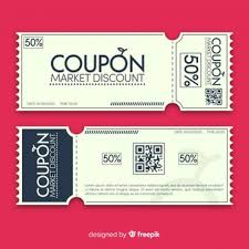 Coupon Outline Template Coupon Vectors Photos And Psd Files Free Download