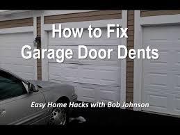 garage door dent repairHow to Remove Garage Door Dents Yourself and Save Money  YouTube