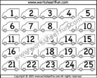 Counting By 25s Chart 2 5 Free Printable Worksheets Worksheetfun