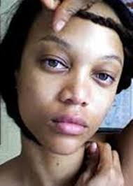 tyra banks without makeup named as world supermodel tyra banks without makeup face actually