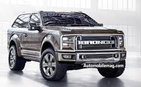 2017 Ford Bronco, The Revival of The Former Popular SUV in The ...