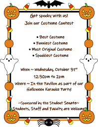 Costume Contest Flyer Middlesex Community College