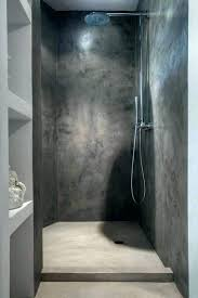 concrete shower walls photos