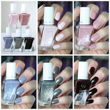 Essie Gel Colors Chart Essie Gel Couture 2018 Enchanted Collection Swatches