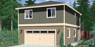 Garage Apartment Plans is Perfect for Guests or Teenagers Carriage Garage Plans  apartment over garage  ADU plans