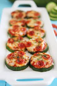 Pizza med zucchini