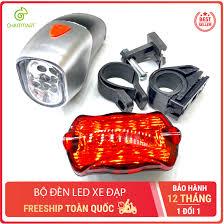 Bộ đèn Led xe đạp trước và sau 6 bóng Led độ sáng cao tiết kiệm năng l –  Chammart - Phụ Kiện Thông Minh