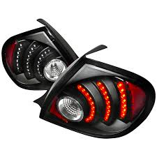dash z racing lighting aftermarket lights headlights 03 05 dodge neon led tail lights black by depo