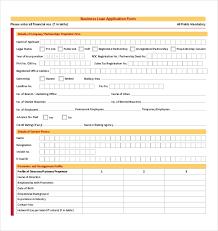 Loan Application Form 10 Loan Application Templates Pdf Doc Free Premium Templates