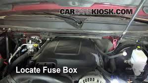 replace a fuse 2007 2013 gmc yukon 2008 gmc yukon denali 6 2l v8 locate engine fuse box and remove cover