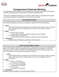 Comparison And Contrast Essays Examples Comparison Contrast Writing Eng 101 English Studocu