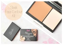 sleek face contour kit review how to contour and highlight