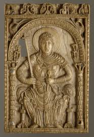 carolingian art essay heilbrunn timeline of art history the plaque the virgin mary as a personification of the church
