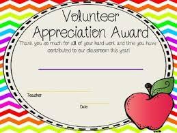 Volunteer Certificates Eoy Superlatives Volunteer Certificates By Primary With A Purpose