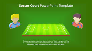 soccer field templates 3d animated soccer court powerpoint template slidemodel