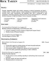 Resume Examples Internship Objective Sample Within 25 Resume For Internship