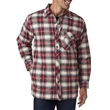 Backpacker Men's Flannel Shirt Jacket with Quilt Lining ... & Backpacker Men's Flannel Shirt Jacket with Quilt Lining - INDEPENDENT - XL  BP7002 - Walmart.com Adamdwight.com